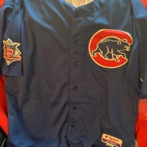 Chicago cubs blue Schwarber jersey size 54